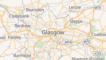 Carte en ligne de Glasgow