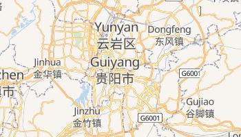 Carte en ligne de Guiyang