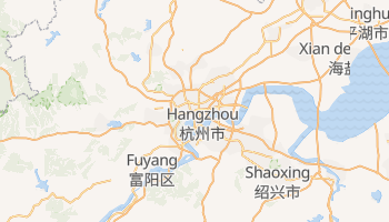 Carte en ligne de Hangzhou
