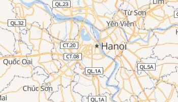 Carte en ligne de Hanoï
