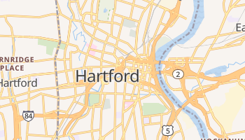 Carte en ligne de Hartford