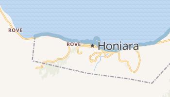 Carte en ligne de Honiara