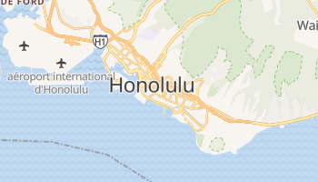 Carte en ligne de Honolulu