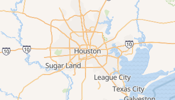 Carte en ligne de Houston