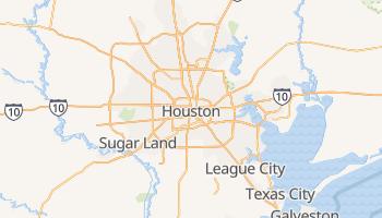 Carte en ligne de Houston