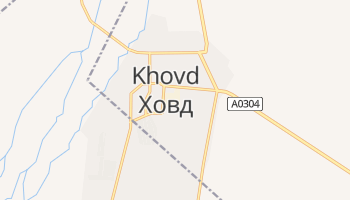 Carte en ligne de Hovd