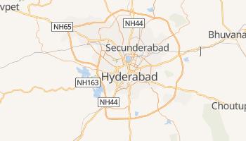 Carte en ligne de Hyderâbâd