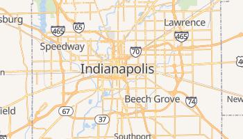 Carte en ligne de Indianapolis