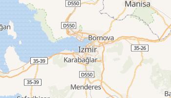 Carte en ligne de İzmir