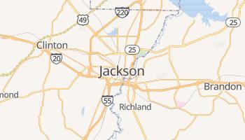 Carte en ligne de Jackson