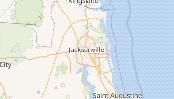 Carte en ligne de Jacksonville