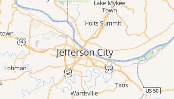 Carte en ligne de Jefferson City