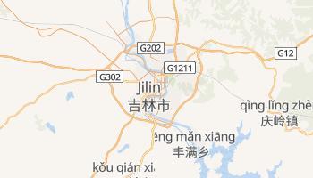 Carte en ligne de Jilin