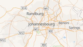 Carte en ligne de Johannesburg