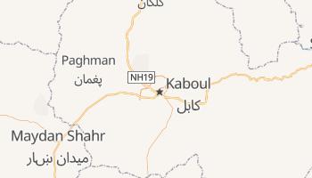 Carte en ligne de Kaboul