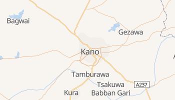 Carte en ligne de Kano
