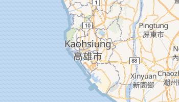 Carte en ligne de Kaohsiung