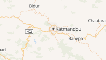 Carte en ligne de Katmandou