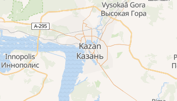 Carte en ligne de Kazan
