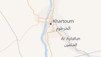Carte en ligne de Khartoum