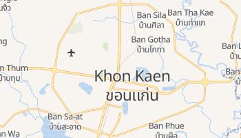 Carte en ligne de Khon Kaen