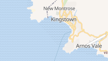 Carte en ligne de Kingstown
