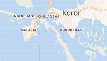 Carte en ligne de Koror