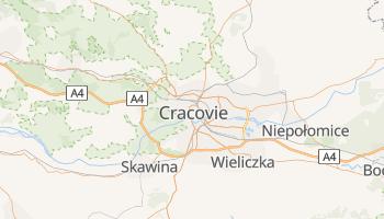 Carte en ligne de Cracovie