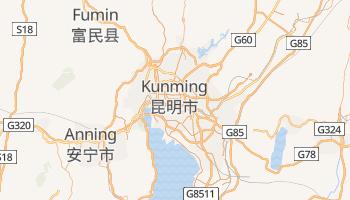 Carte en ligne de Kunming