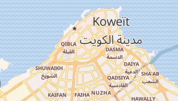 Carte en ligne de Koweït