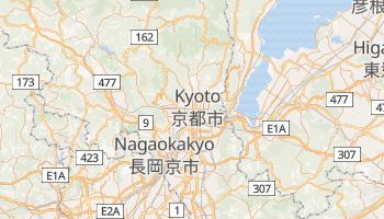 Carte en ligne de Kyōto
