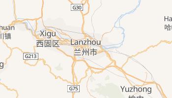 Carte en ligne de Lanzhou