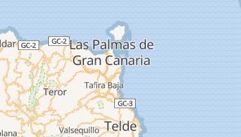 Carte en ligne de Las Palmas