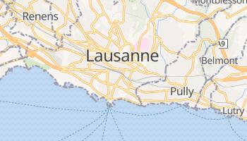 Carte en ligne de Lausanne