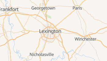 Carte en ligne de Lexington-Fayette