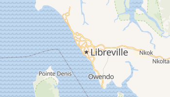 Carte en ligne de Libreville