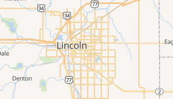 Carte en ligne de Lincoln