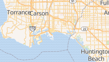 Carte en ligne de Long Beach