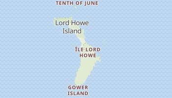 Carte en ligne de Île Lord Howe