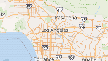 Carte en ligne de Los Angeles