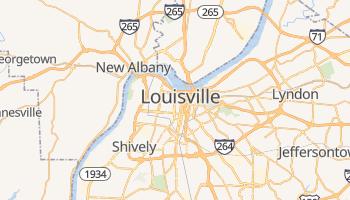 Carte en ligne de Louisville