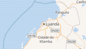 Carte en ligne de Luanda