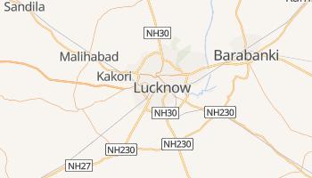 Carte en ligne de Lucknow