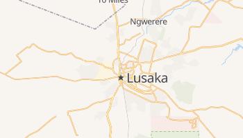 Carte en ligne de Lusaka