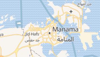 Carte en ligne de Manama
