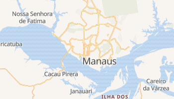 Carte en ligne de Manaus