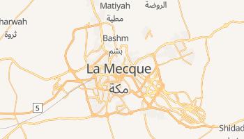Carte en ligne de La Mecque
