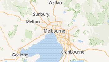 Carte en ligne de Melbourne