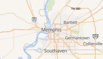 Carte en ligne de Memphis