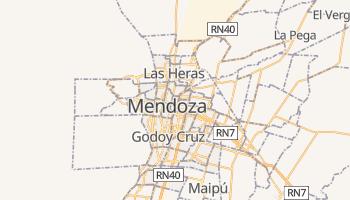 Carte en ligne de Mendoza